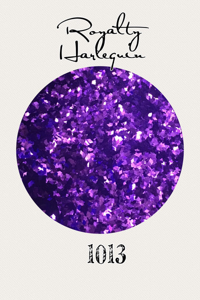 Royalty Harlequin Glitter
