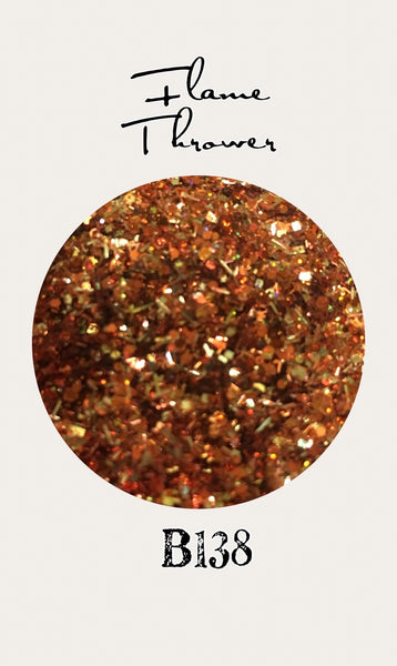 Flame Thrower Custom Mix Glitter