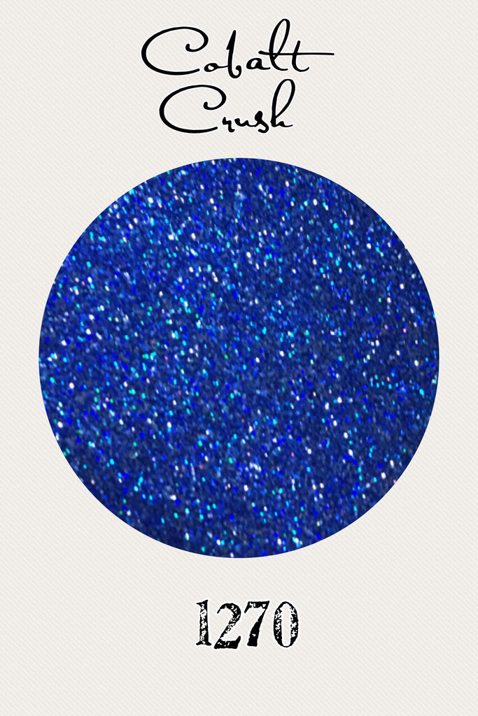 Cobalt Crush Hologram Ultrafine Glitter