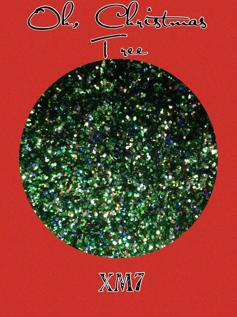 Oh, Christmas Tree Chunky Glitter Mix