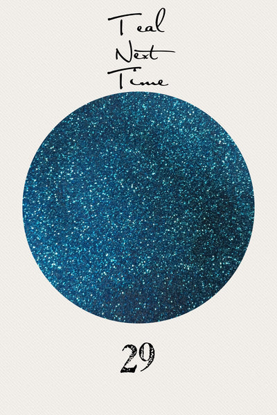 Teal Next Time Ultrafine Glitter