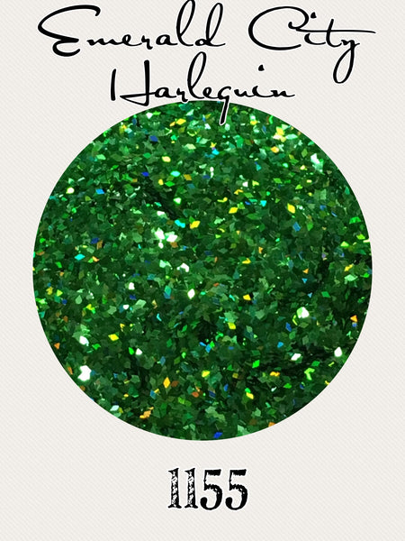 Emerald City Harlequin Hologram Glitter