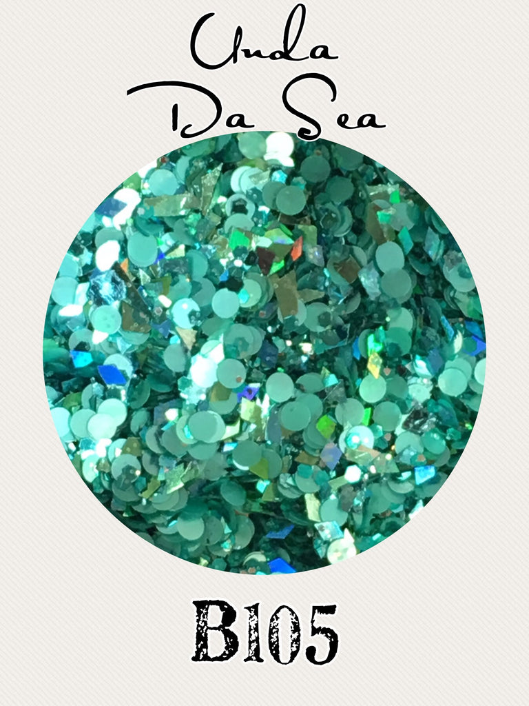 Unda Da Sea Custom Mix Glitter