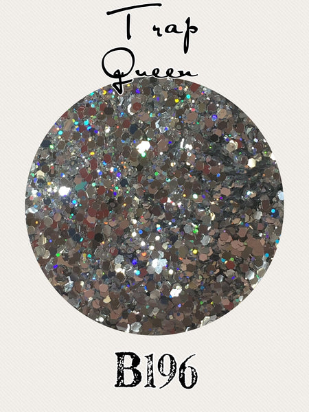Trap Queen Custom Mix Glitter