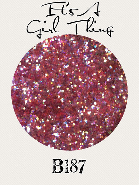 It's A Girl Thing Custom Mix Glitter