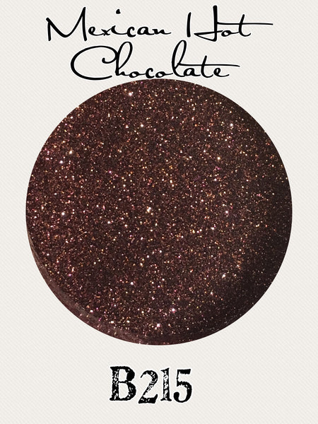 Mexican Hot Chocolate Custom Mix Glitter