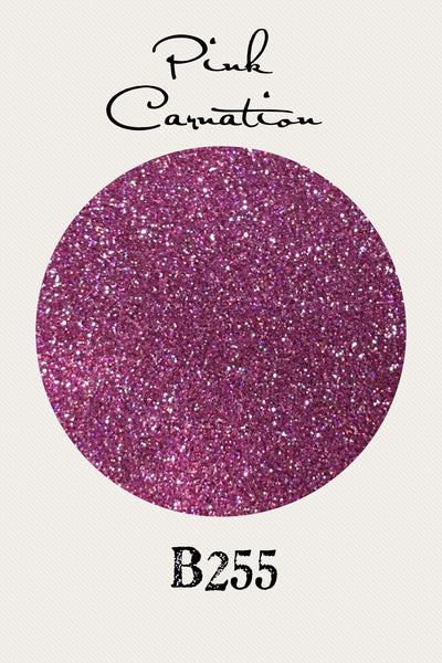 Pink Carnation Custom Mix Glitter