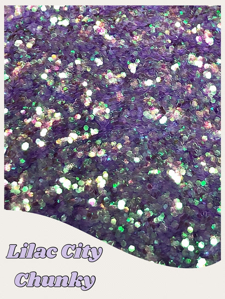 Lilac City Cosmetic Chunky Glitter
