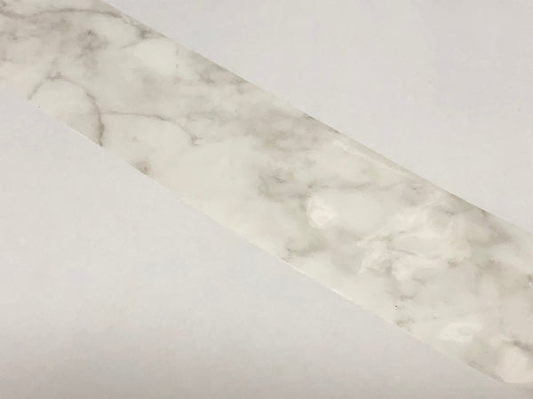 White and Grey Marble  Nail Foil