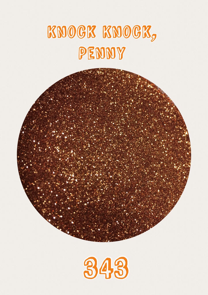 Knock Knock, Penny Ultrafine Glitter