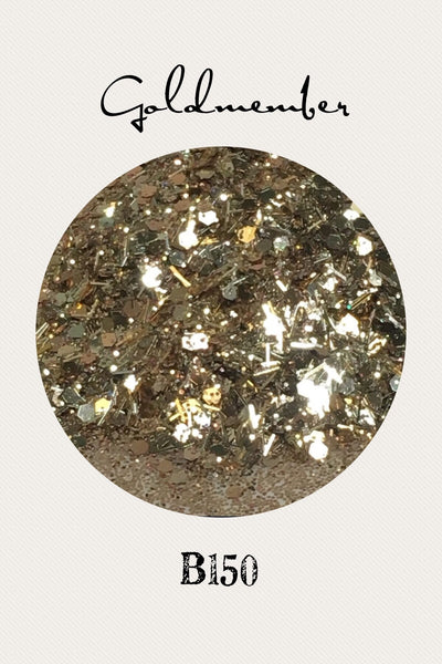 Gold Member Custom Mix Glitter