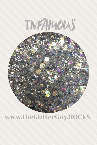 Infamous Chunky Glitter Mix
