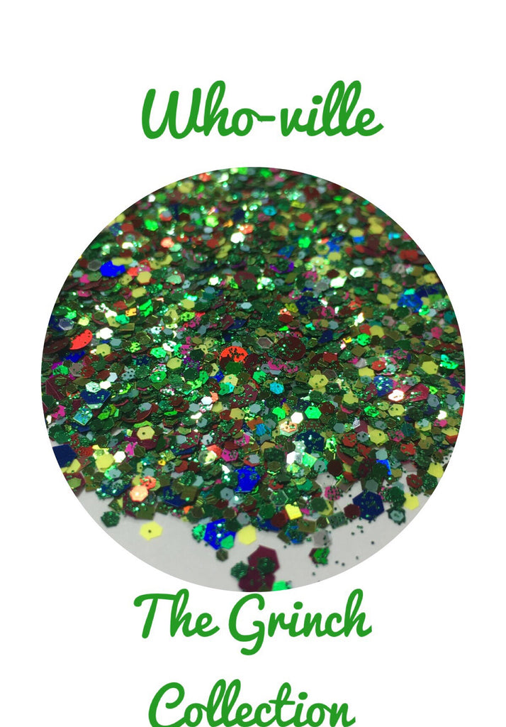 Who-ville Chunky Glitter Mix