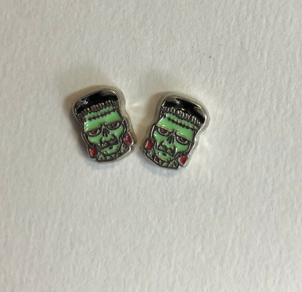 Frankenstein nail charms (2)
