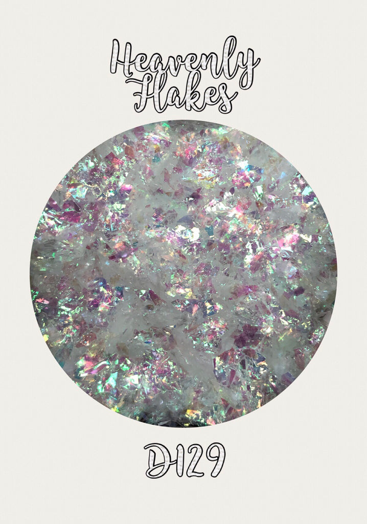 Heavenly Iridescent Flakes