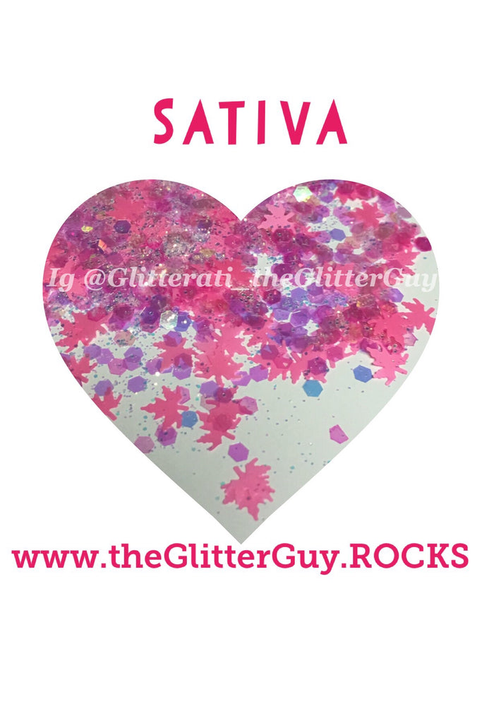 Sativa Chunky Glitter Mix