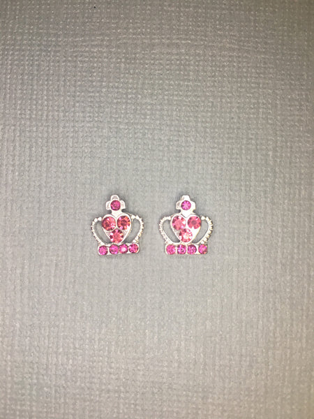 Silver Crown with Pink Gems (2)