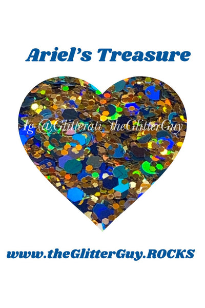 Ariel's Treasure Chunky Glitter Mix