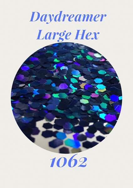 Daydreamer Large Hex Chunky Hologram Glitter