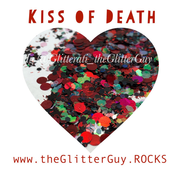 Kiss of Death Chunky Glitter Mix