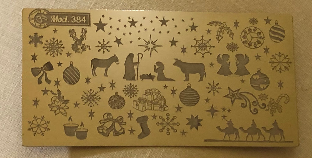 The Reason For The Season Christmas Stamping Plate
