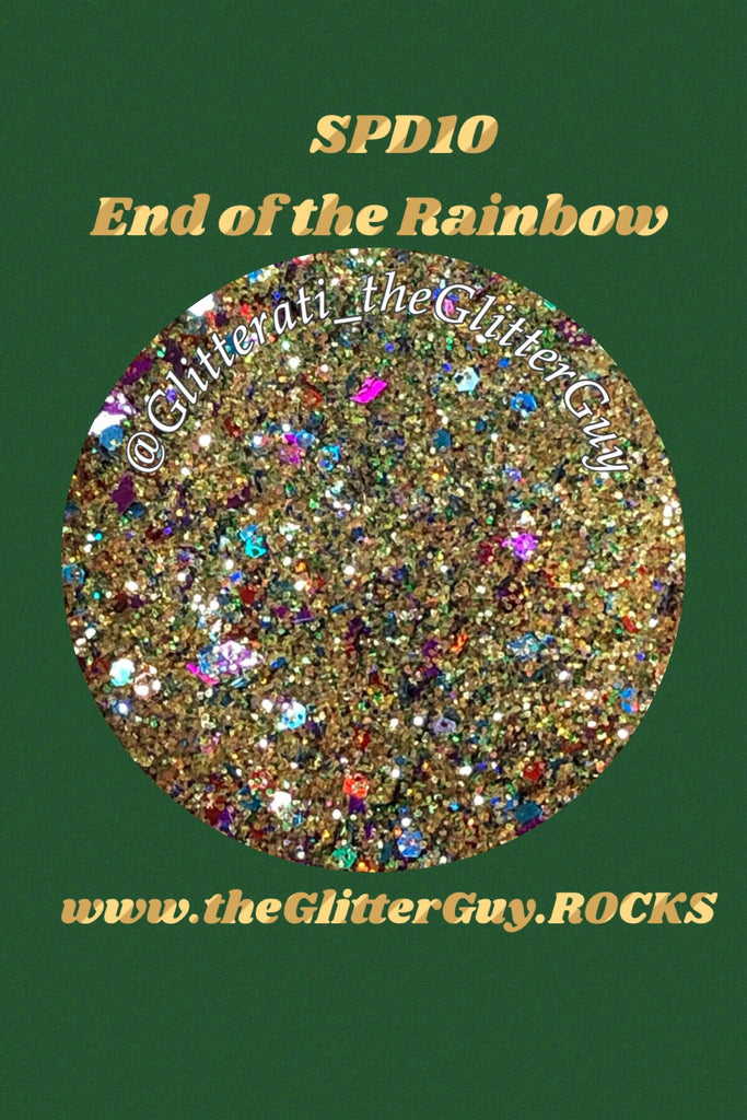 End of the Rainbow St Patrick's Chunky Mix Glitter