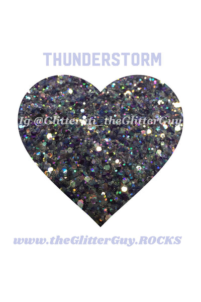 Thunderstorm Chunky Glitter Mix