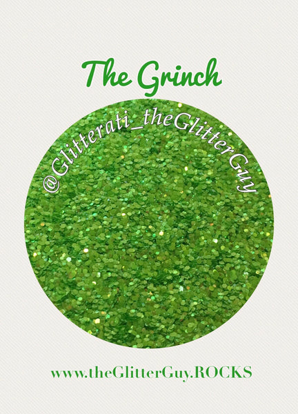 The Grinch Chunky Glitter Mix