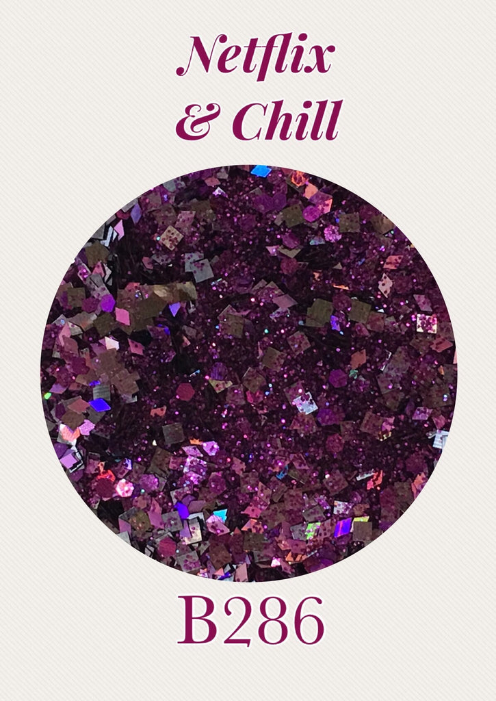 Netflix & Chill Custom Mix Glitter