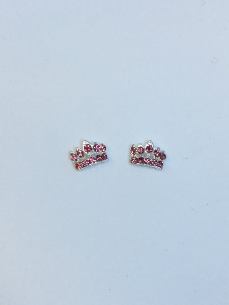 Silver/Pink Crowns (2)
