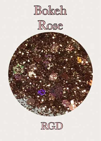 Bokeh Rose Custom Mix Glitter
