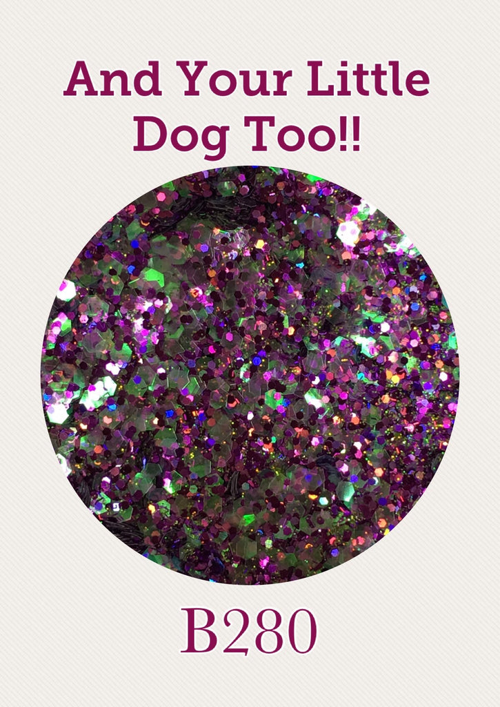 And Your Little Dog Too Chunky Glitter Mix