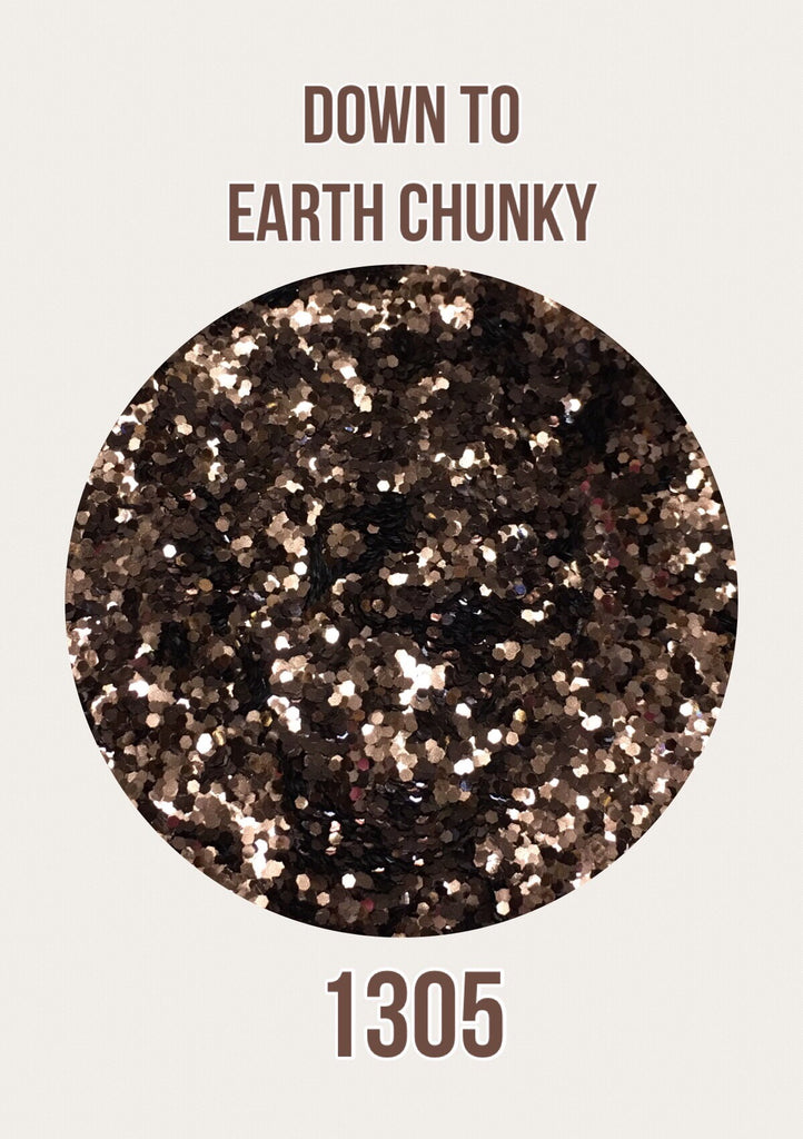 Down to Earth Chunky Glitter