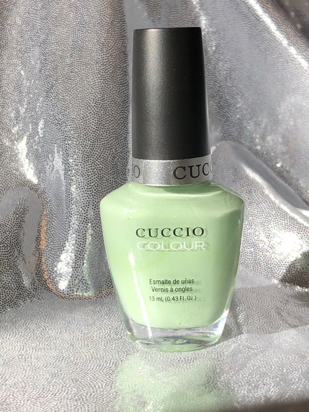 Mint Condition Cuccio Nail Lacquer