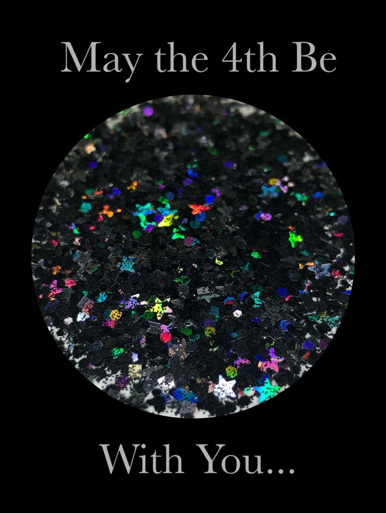May the 4th Be With You Chunky Glitter Mix
