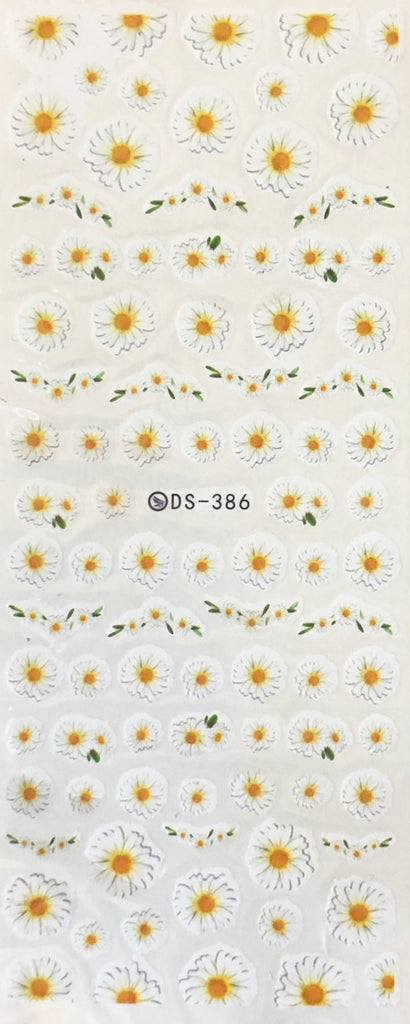 Daisy Nail Decals