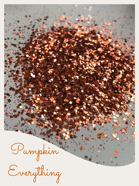 Pumpkin Everything Custom Mix Glitter