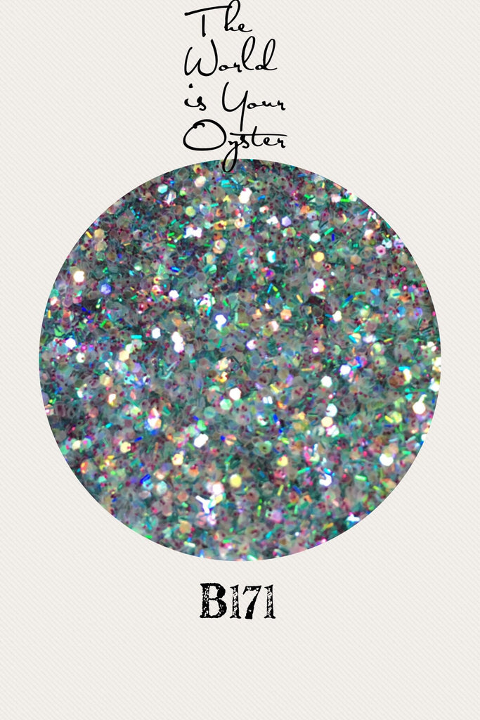 The World is Your Oyster Custom Mix Glitter