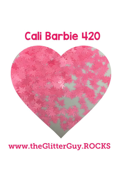 Cali Barbie Leaves Glitter