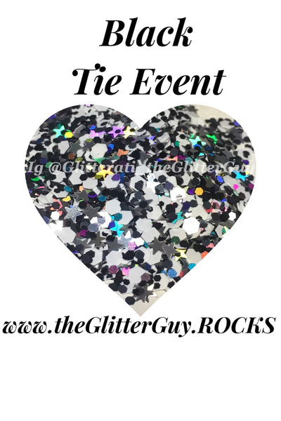 Black Tie Event Chunky Glitter Mix