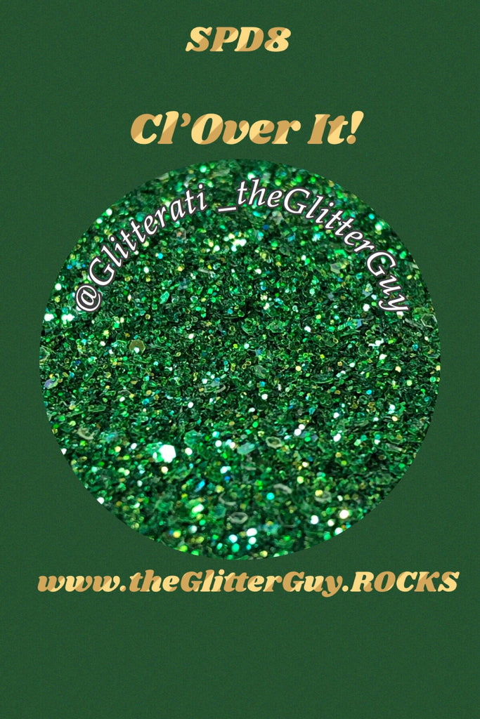 Cl'Over It! St Patrick's Chunky Mix Glitter