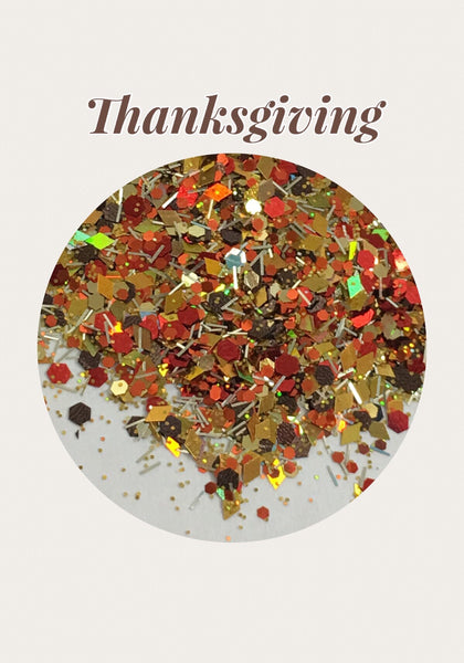 Thanksgiving Chunky Custom Mix Glitter