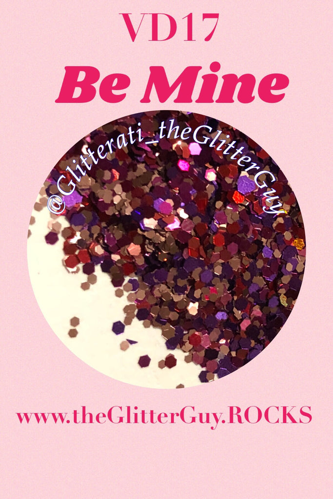 Be Mine Valentine's Chunky Mix Glitter