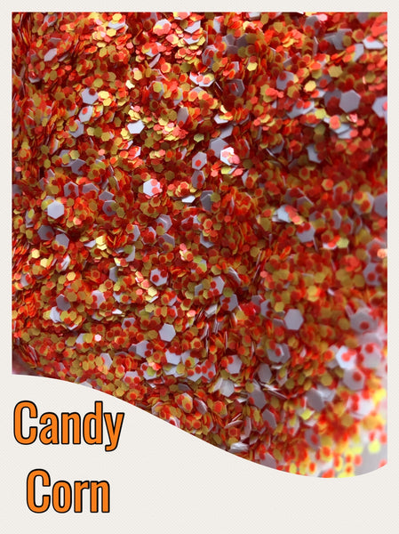Candy Corn Chunky Glitter Mix