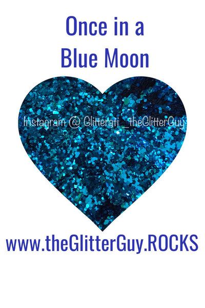 Once In A Blue Moon Chunky Glitter