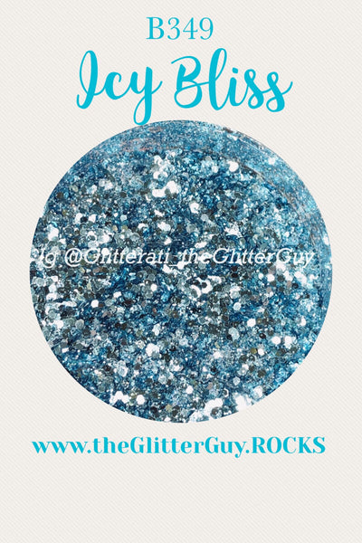 Icy Bliss Chunky Glitter Mix