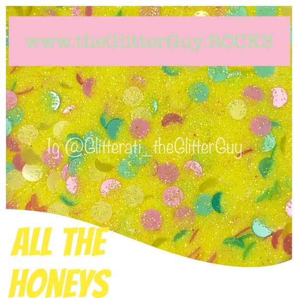 """All the Honeys"" Chunky Glitter Mix"