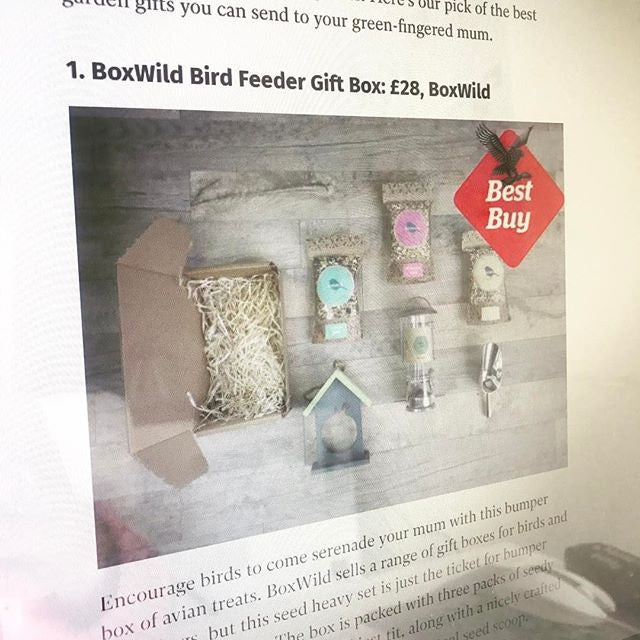 "Boxwild ""Best Buy"" in Independent - Gardening Gifts for Mother's Day"