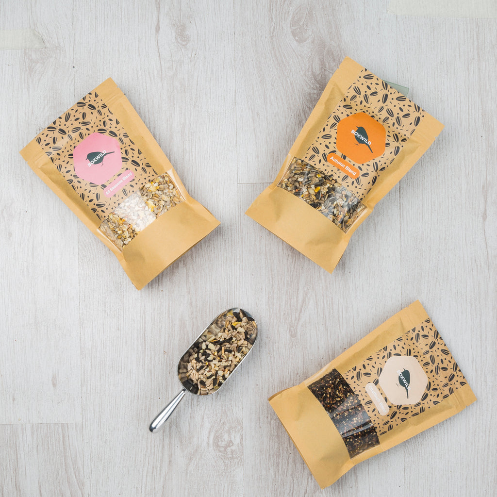 Autumn Bird Seed Gift