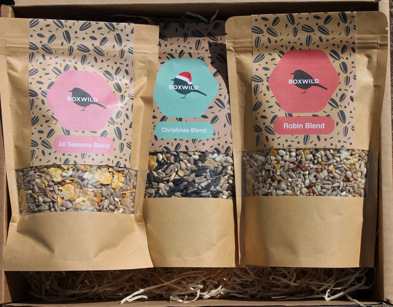 December Bird Seed Gift Box - available from October